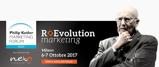 Marketing Event – Philip Kotler Marketing Forum, Italy