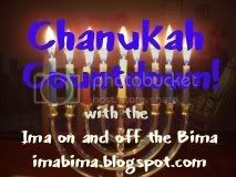Chanukah Countdown Ima on and off the Bima