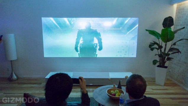 Sony's Rad Short Throw 4K Projector Is Coming to the US