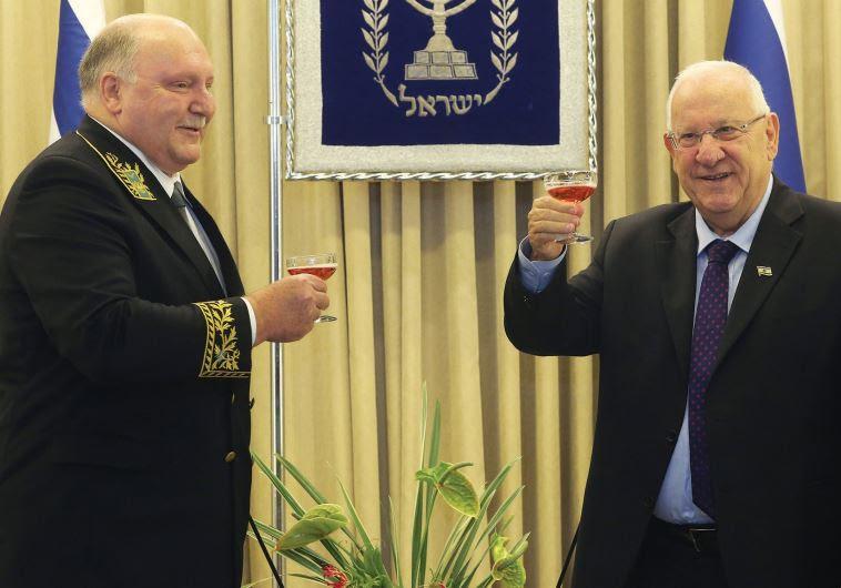 Αποτέλεσμα εικόνας για RUSSIAN AMBASSADOR TO ISRAEL