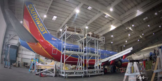 This Awesome Time Lapse Video Shows How Airlines Install Wifi On Planes