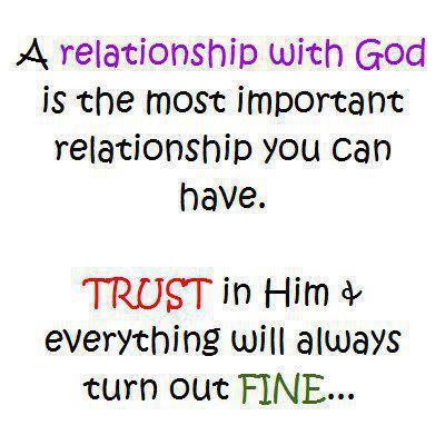 God Quotes Relationship With God Trust Quotes