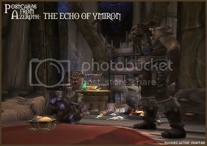 Postcards of Azeroth: The Echo of Ymiron, by Rioriel Ail'thera