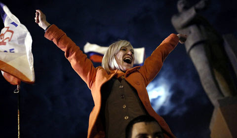 Nga, Crimea, Ukraine, Mỹ, châu-Âu, khủng-hoảng, trừng-phạt, Putin, chứng-khoán