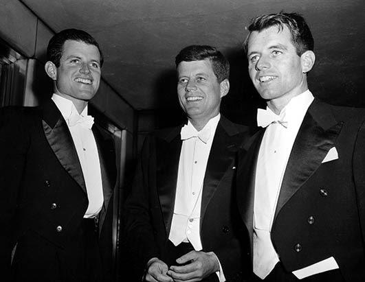 Teddy, JFK and Bobby