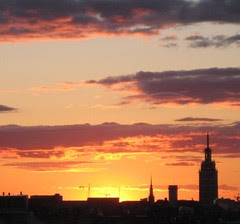 020 sunset in Helsinki