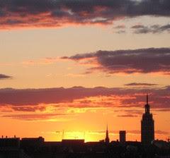 020 sunset in Helsinki