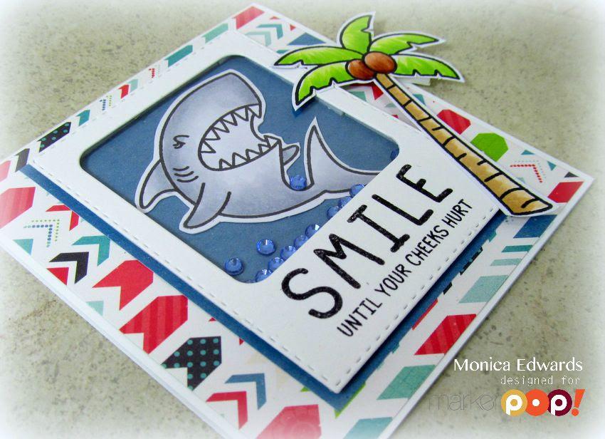 interactive card monica edwards