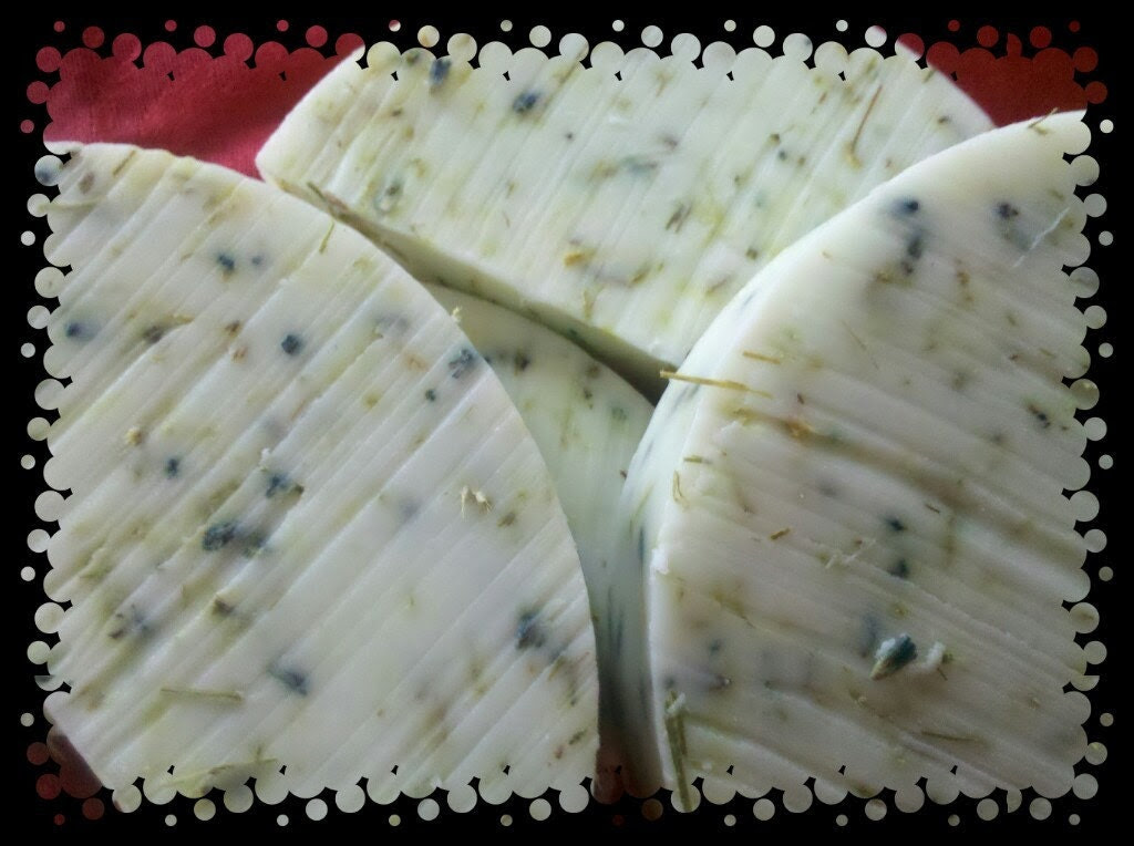 Sandalwood lavendar hint of lemongrass Soap Soothing Skin Goatsmilk