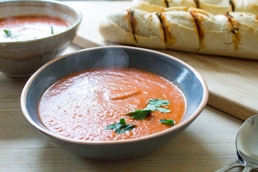 Smoky Chipotle Tomato Soup - All That I'm Eating