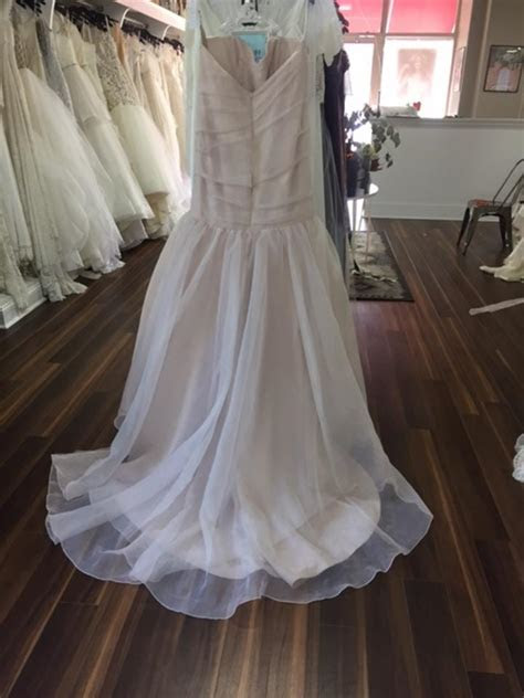 Blush Rosemary Wedding Dress on Sale, 68% Off   Wedding