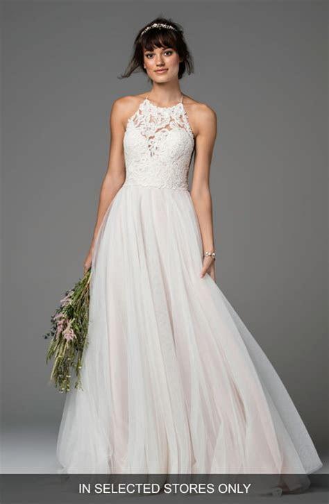 Halter Wedding Dresses & Bridal Gowns   Nordstrom