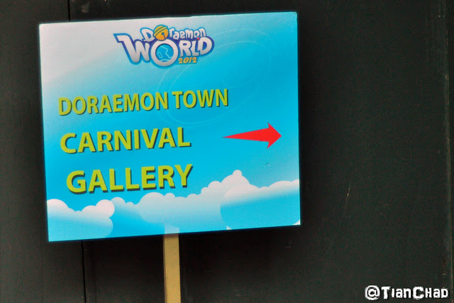 Doraemon World 2012 @ Genting Highland with Limited Edition Touch n Go Card