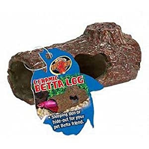 Zoo Med Sinking Ceramic Betta Log Catalog Category