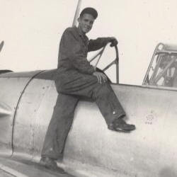 Ed Simpson at Kelly Field 1941