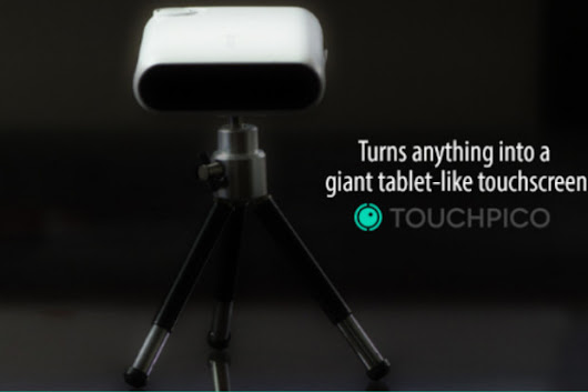TouchPico: Turn Any Surface Into A Touch Screen
