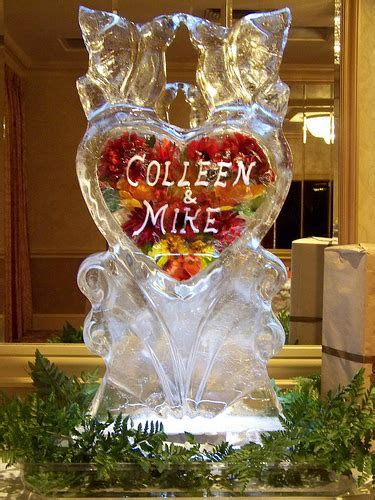 A bit of Ice..very nice!   Ice sculptures for your Lake