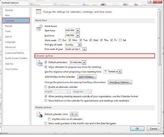 Guidelines To Set Or Remove Reminders In Outlook 2013 Components