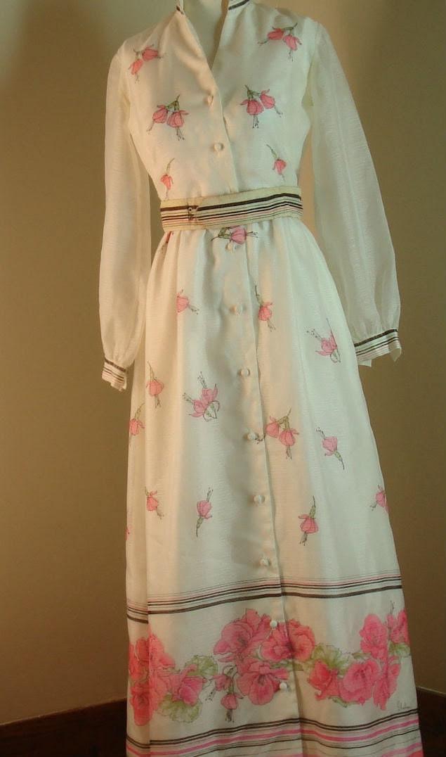 Alfred Shaheen Full Length Dress