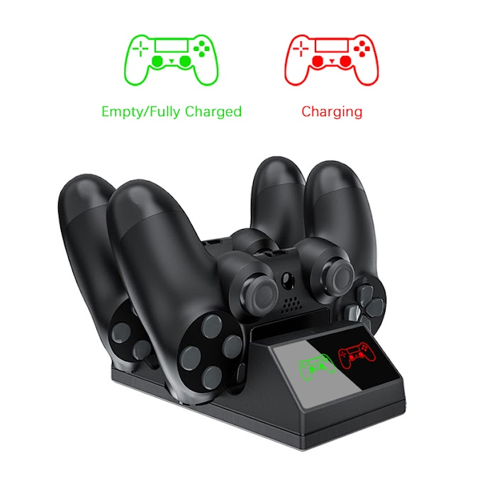 PS4 Controller Charger USB Charging Dock Station with LED light For Sony Playstation 4 /PS4/Pro/Slim