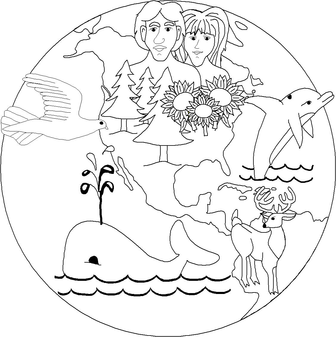 7400 Top Christian Coloring Pages Creation Images & Pictures In HD