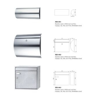 Locking Wall Mailboxes Addresses Weather Gasket Manufacturers China Factory Commercial Door Handle Hinges Locks Door Hardwre Manufacturer