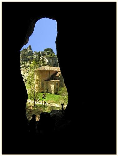 desde la gruta del cañón de río Lobos