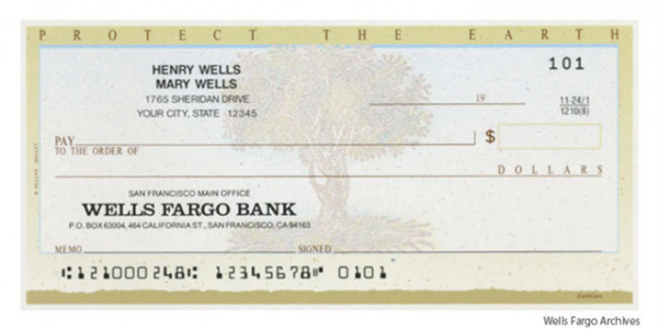 How To's Wiki 88: how to fill out a check wells fargo
