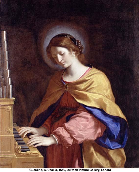 Risultati immagini per santa Cecilia