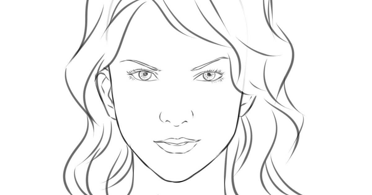 Line Drawing Cartoon Face : Sparking snaps image gallery