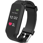 3Plus HR - Activity Tracker with Heart Rate Monitor - Black