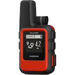 Garmin - inReach GPS with Built-in Bluetooth - Red/Black