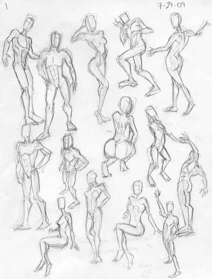 Art Drawing Female Anatomy Creative Ideas