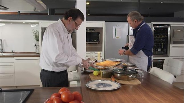 Bertín Osborne 'invita' a su casa a Mariano Rajoy