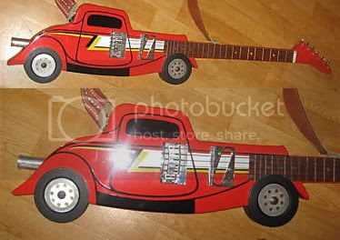 ZZ Top Car Guitar - DOES NOT WORK!!!