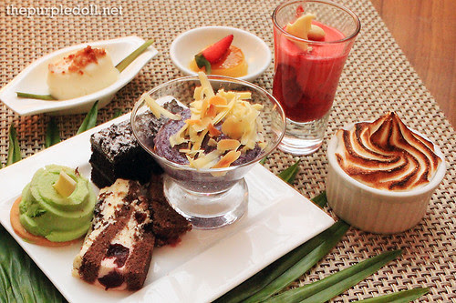 Desserts at Corniche