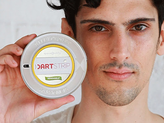 Dartstrip—The 8 Foot Magnetic Display System in a Tin
