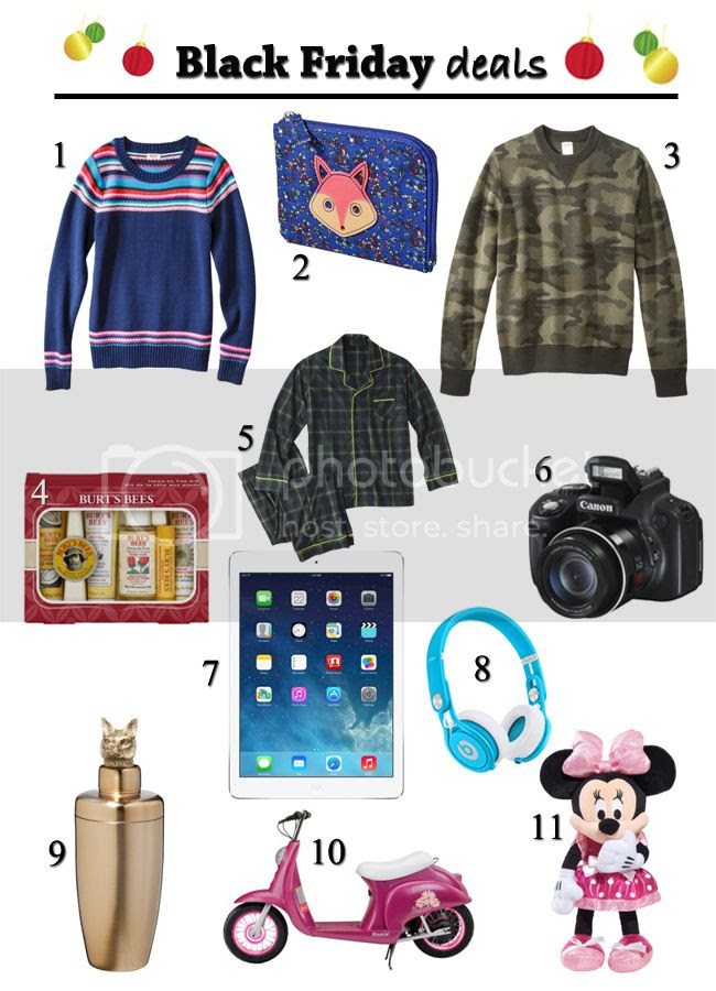 Black Friday deals at Target, Target holiday 2013 gift guide with Target for #MyKindofHoliday