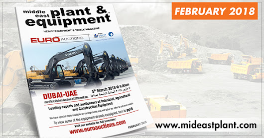 Middle East Plant and Equipment - February 2018 Edition