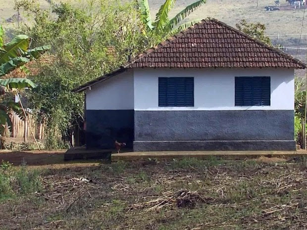 Criança morreu após ser espancada na zona rural de São Sebastião da bela vista (Foto: Reprodução EPTV)