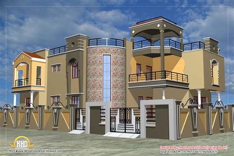 luxury indian home design  house plan  sqft