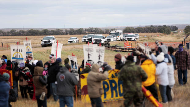 Image result for More than 80 arrested at Dakota Access Pipeline protest