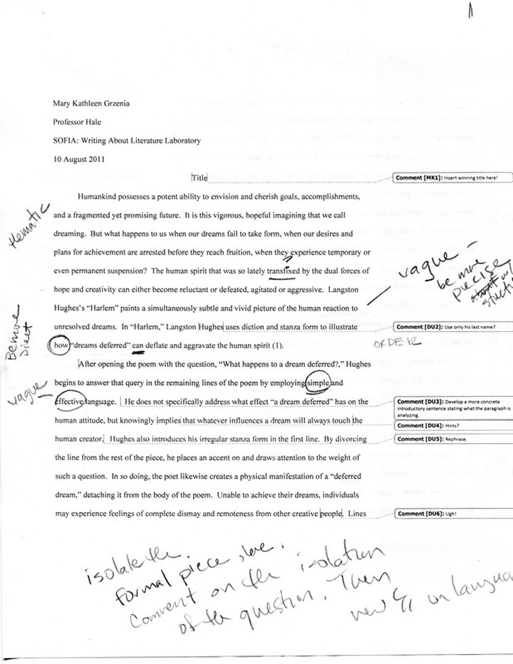how to write a thesis statement for a poetry analysis essay