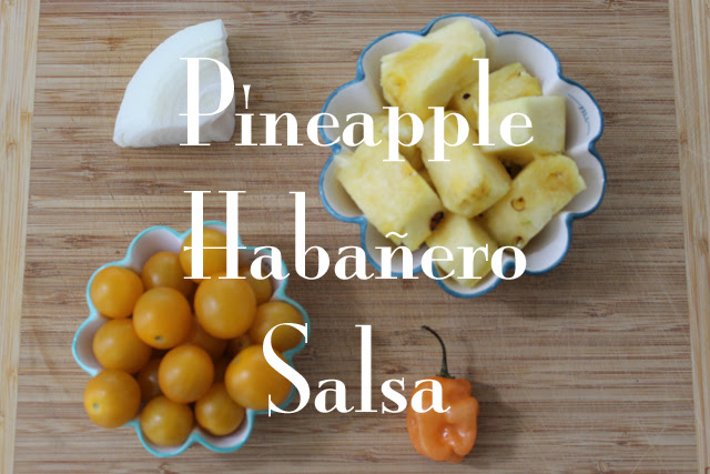 Pineapple Habañero Salsa