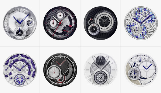 Make your Android Wear watch look gorgeous with these analog watch faces | AndroidGuys