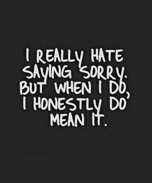 Sorry Quotes Pictures And Sorry Quotes Images With Message