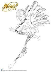 Coloriages Winx Club à Imprimer Coloriages Dessins Animes