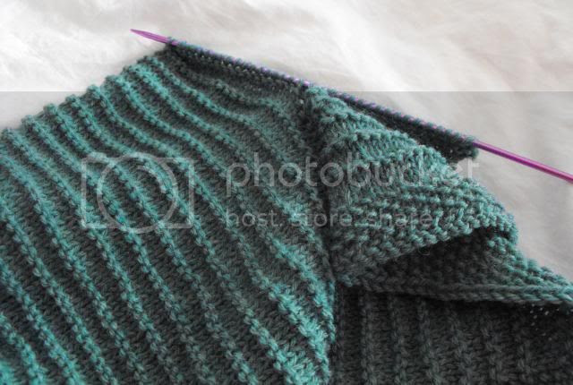 Litte ribbed baby jacket