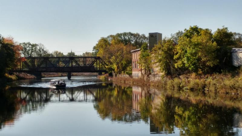 Blackstone Valley: Explorer River Tours start in Woonsocket this Sunday!