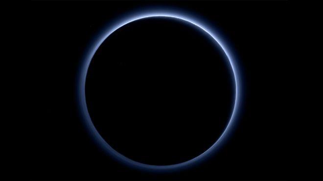 Pluto hazes